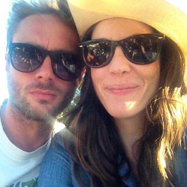 Liv en Royston is nog goeie vriende FOTO: Instagram  @roystonlangdon