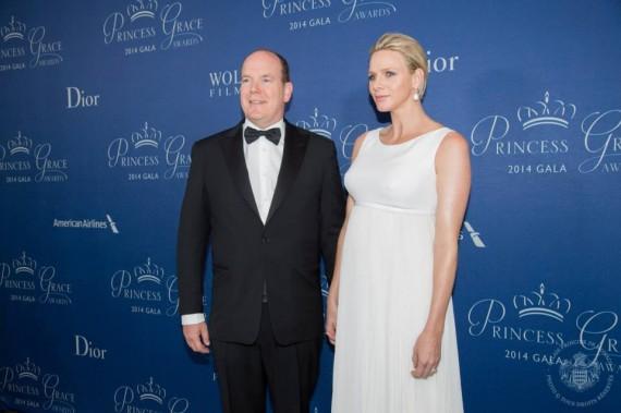 Prinses Charlene en haar man, prins Albert FOTO:  Palais Princier de Monaco