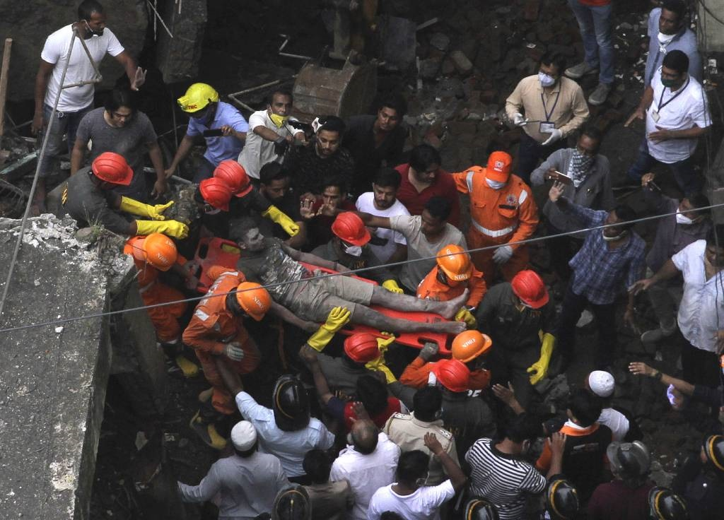 At Least 10 Dead In Building Collapse Near Mumbai, Dozens Feared Trapped