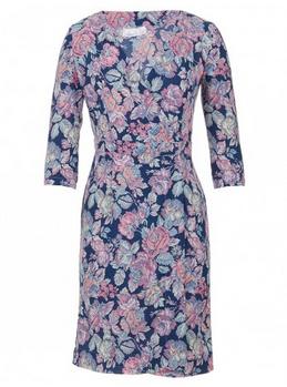 Floral-print Wrap Dress Multi-colour ADAM & EVE