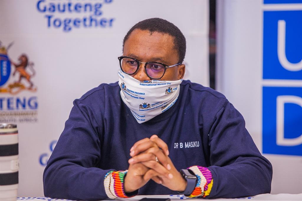 Gauteng Health MEC Dr Bandile Masuku.