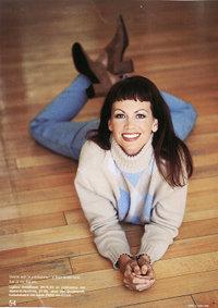 Margaret as model vir 'n SARIE-modesessie, Junie 1998
