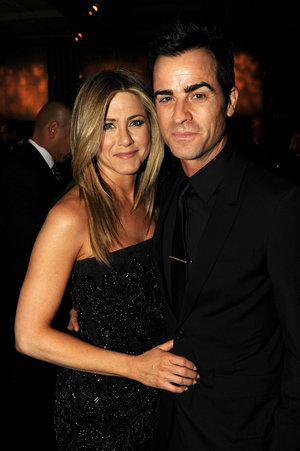 Jennifer Aniston en haar man, Justin Theroux FOTO: Gallo Images / Getty Images