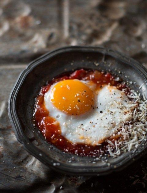 Spaanse eier gebak