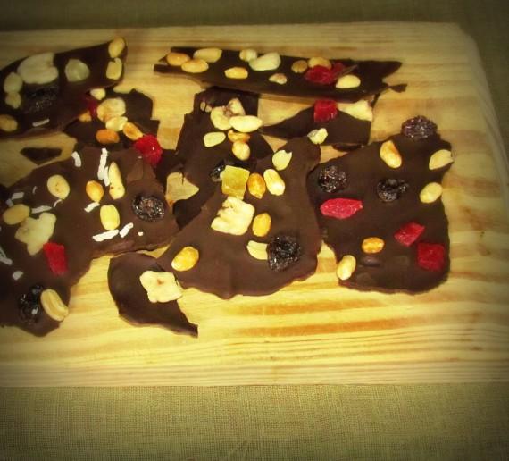 Sjokolade-neut-splinters