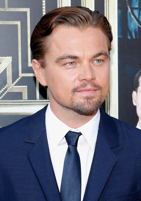 Akteur Leonardo DiCaprio met 'n 'comb over'-styl  FOTO: Gallo Images / Getty Images
