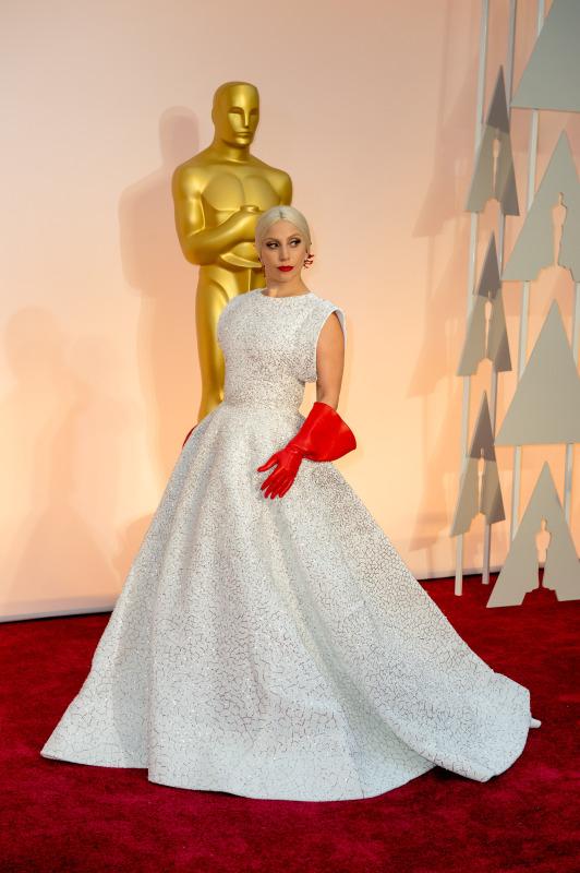 Lady Gaga by verlede jaar se Oscars Foto: Matt Petit / ©A.M.P.A.S.