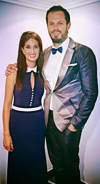 Hanna en haar man, Bok van Blerk FOTO: Twitter