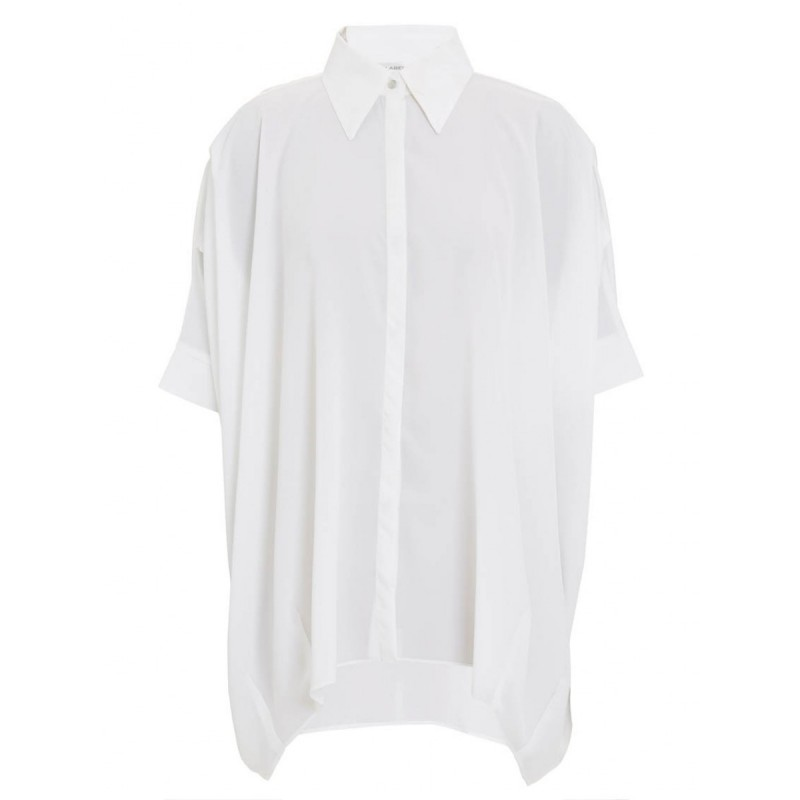 """Boxy shirt with sleeve detail"""