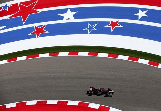 Red Bull track