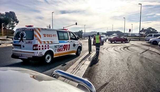 ER24 spokesperson said there have been three attacks on ER24 paramedics this year.