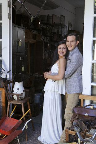Reynardt en sy meisie An-Maré Roothman. FOTO: Phyllis Green