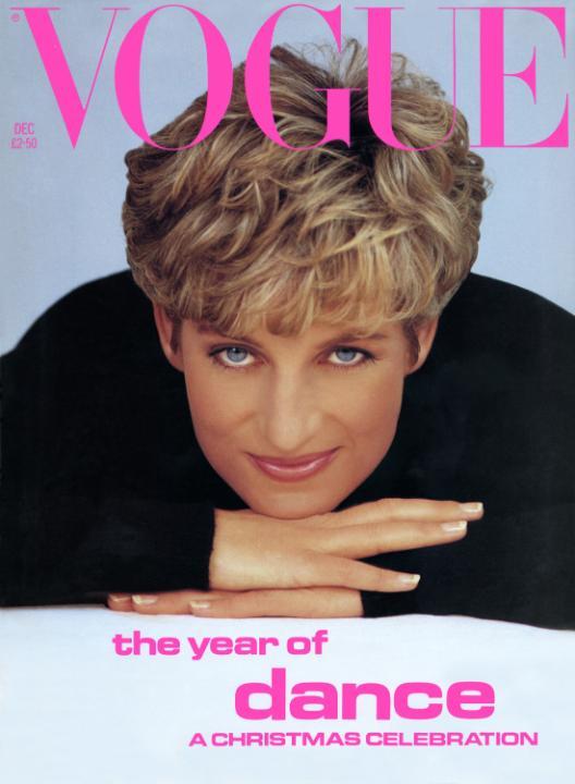 Prinses Diana Vogue