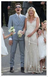 Jamie Hince en Kate Moss