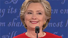 WATCH: Clinton laughs off Trump's 'stamina' concerns
