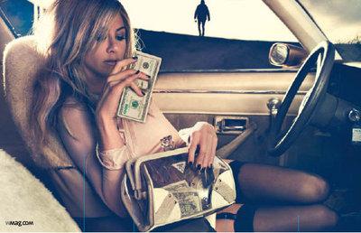 Jennifer Aniston in W