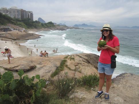 Hier is ek in Rio de Janeiro.
