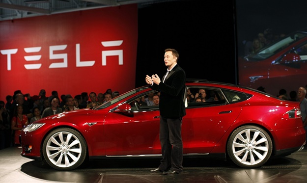 Elon Musk, CEO of Tesla. The traditional car indus