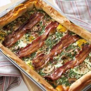 recipes, bake,bacon