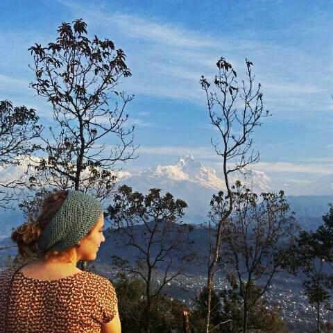 Die hoogste berg in Nepal!