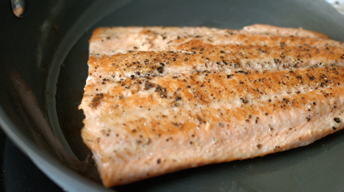 4 PAN SEARED TROUT