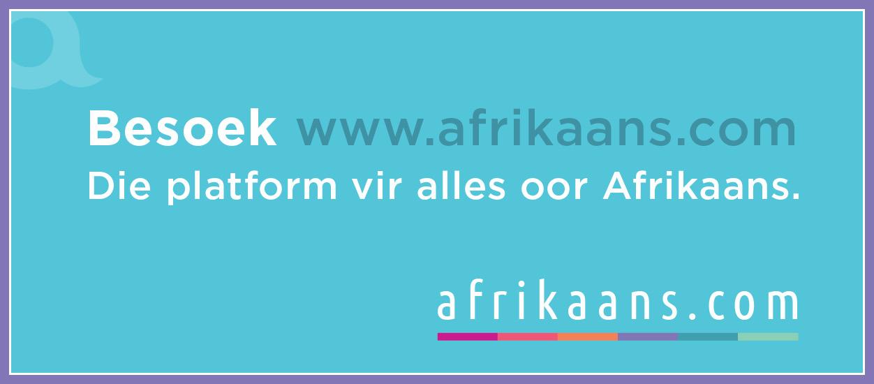 Afrikaans.com aanlyn banier