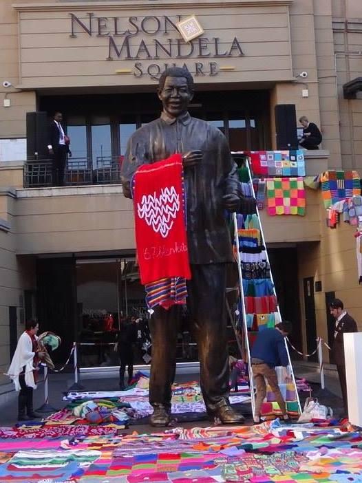 Mandela-dag 2014 FOTO: Facebook