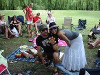 Sydney, Kersfees in Centennial-park