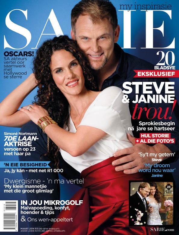 Steve Janine Maart voorblad cover