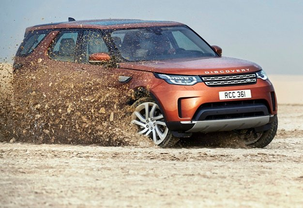 <B>REVEALED:</B> The fifth generation Land Rover Discovert 5 is a big departure from its predecessor - in all areas. <I>Image: MotorPress</I>