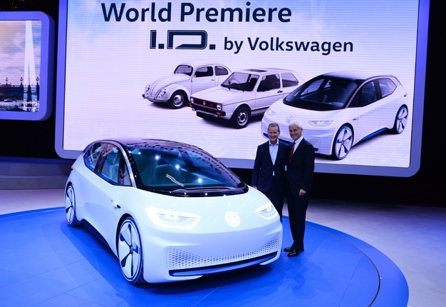 The Future Is Electric Volkswagen One Of Many Automakers Set To Heavily Invest In Vehicles Image Afp Eric Piermont