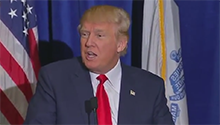WATCH: Trump does a 'Malema' and ejects journalist from press conference