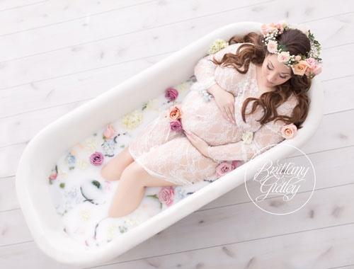 Milk-Bath-Maternity-Photography