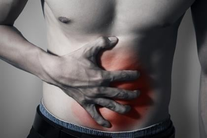 pain in lower right abdomen when coughing