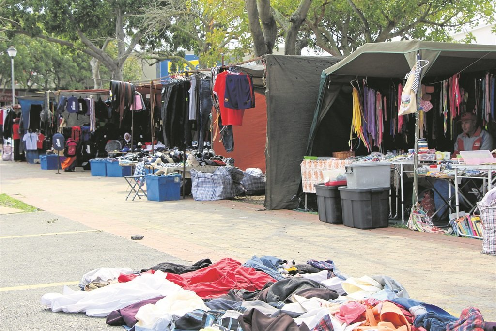 Many local informal traders are said to benefit from the R500 000 set aside. Picture: Jay-Dee Cyster
