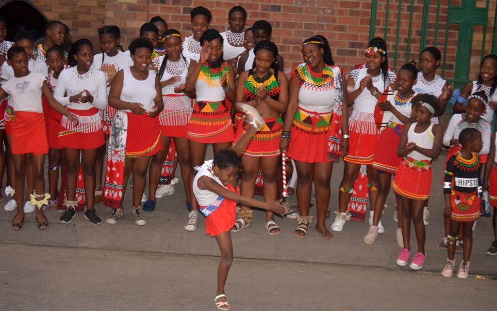 Isigoi Sezintombi Cultural Group Aims At Promoting Virginity Among Young Girls Photo By Everson LuhangaPhoto SOUTH Africa