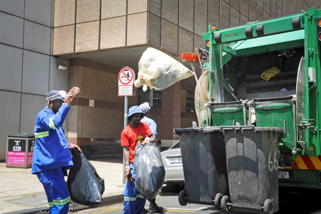 Pikitup workers in Johannesburg.