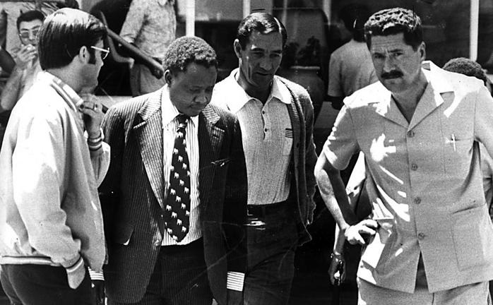 On October 19 1977, The World and Weekend World newspapers are banned by the apartheid state. Percy Qoboza, editor of The World at the time, is arrested by security police. Qoboza was imprisoned for five months under section 10 of the Internal Security Act Picture: Sowetan
