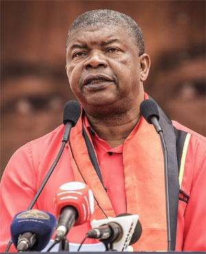 Joao Lourenco (File: AFP)