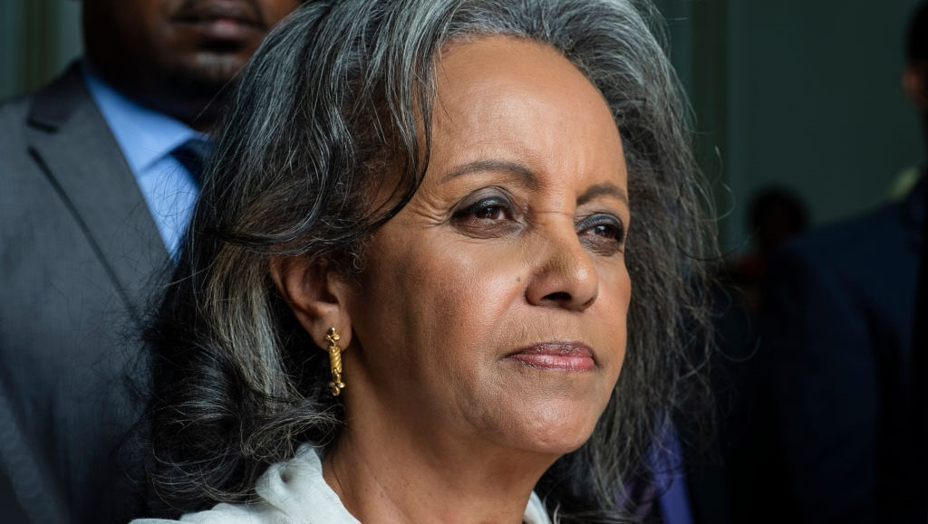 Sahle-Work Zewde leaves the Parliament after being