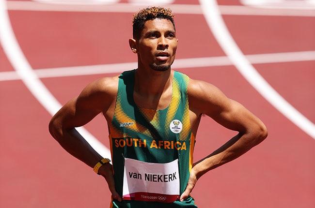 South African sprinter Wayde van Niekerk