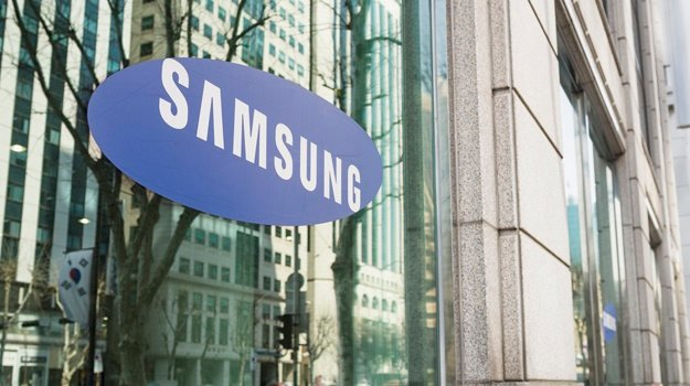 The Samsung logo on the window of one of the South Korean company's offices in Gangnam, central Seoul. (iStock)