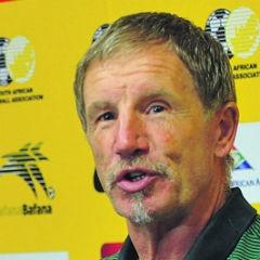 TOUGH TIMES:  Coach Stuart Baxter agrees that the team needs a sports psychologist. (Jabulani Langa)