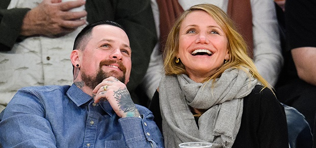 Benji Madden and Cameron Diaz (Photo: Getty Images)