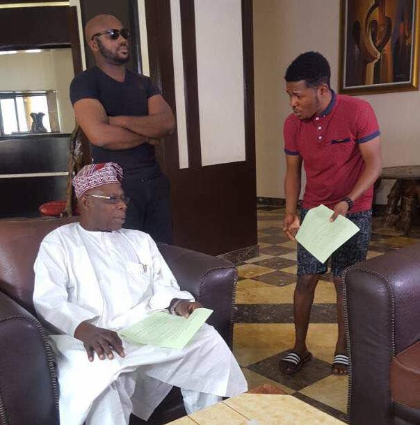 obasanjo makes acting debut