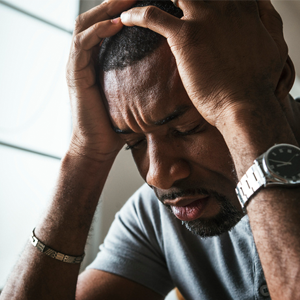 Men also suffer from mental health disorders and there is no shame in admitting you need help.