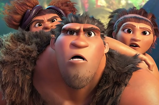 A scene in The Croods: A New Age.