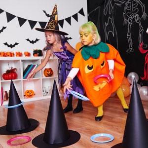 Halloween-birthday party
