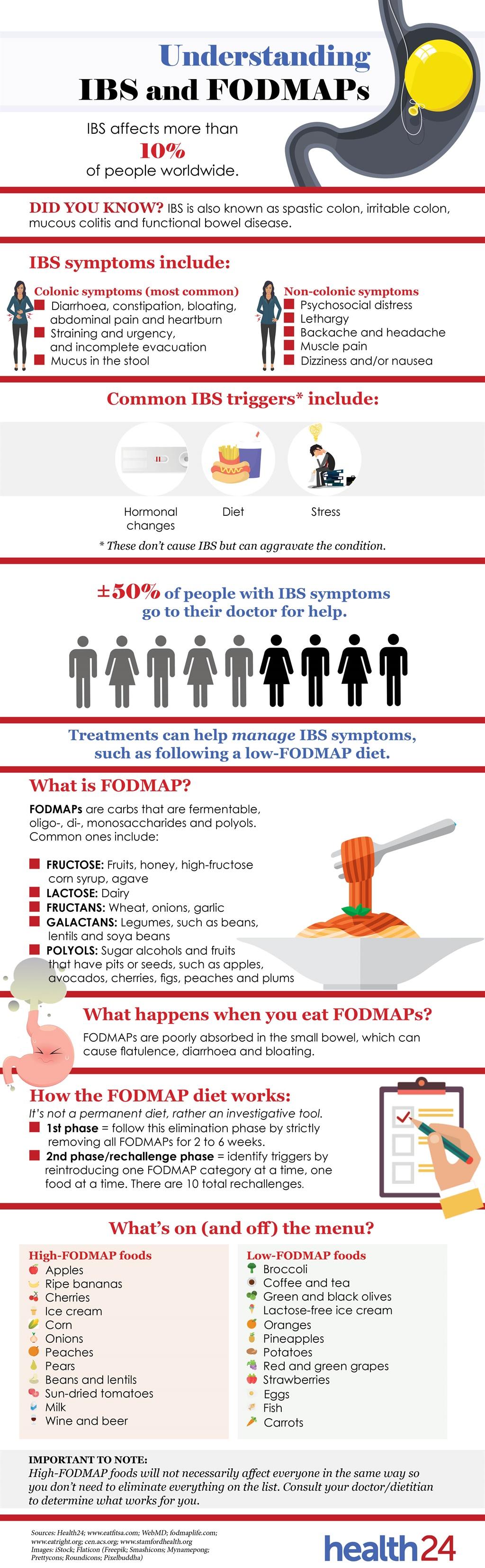 SEE: Understanding IBS and FODMAPs | Health24