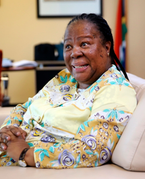Naledi Pandor, minister of science and technology. PHOTO: Gallo images/ Getty images